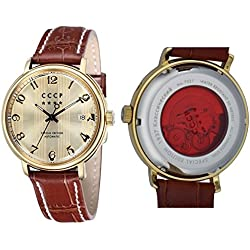 CCCP HERITAGE Leather Watch - CP-7021-03
