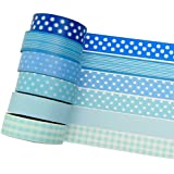 K-LIMIT 6 Set Washi Tape rollos de Washi Tape, cinta decorativa autoadhesivo, cinta de enmascarar, masking tape Washitape Scrapbooking DIY 9682