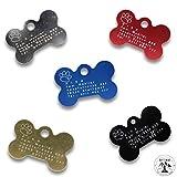 Raftsman Hundemarke mit Gravur - ID Tag - Adressanhänger - Adressschild - Individuelle - Personalisiert - Diamantgravur