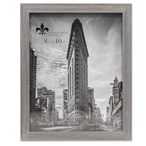 Lawrence Frames Soho Bilderrahmen, Holzmaserung, 20,3 x 25,4 cm, Grau