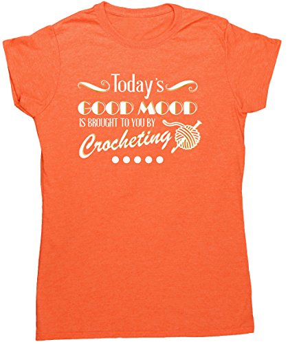 HippoWarehouse Damen T-Shirt X-Large Orange (Heather Orange)