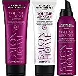 (3 Pack) Charles Worthington Volumen & Bounce Hair Set, Volumen & Schwung Shampoo 250 ml, Volumen & Bounce Conditioner 250 ml & Volumen & Schwung Body Boosting Mousse 200 ml