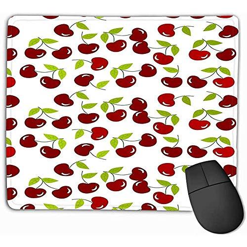 Mousepad Kirschen verträumt Rechteck Gummi Mousepad 30X25CM -