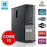 PC DELL Optiplex 790 SFF Intel Core I5 3,1Ghz 16Go Disque 2To WIFI W7 Pro