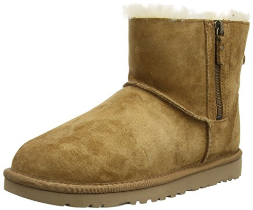ble Zip Damen Stiefel & Stiefeletten, Braun (Chestnut), 37 EU (Ugg Mit Reißverschluss)