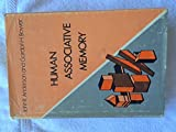 Human Associative Memory (The Experimental psychology series) by John R. Anderson (1973-07-01)