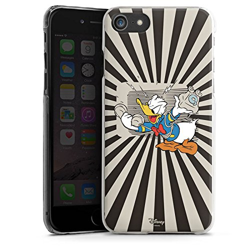 Apple iPhone X Silikon Hülle Case Schutzhülle Disney Donald Duck Fanartikel Geschenke Hard Case transparent