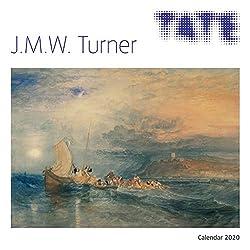 Tate: J.M.W. Turner - William Turner in der Tate Gallery 2020: Original Flame Tree Publishing-Kalender [Kalender] (Wall-Kalender)