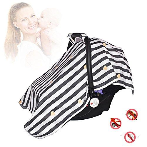 Rstant Housse de Protection pour Poussette Pare-Soleil Sun Shade, Semblable à Une Chaise de Style Cabas pour bébé