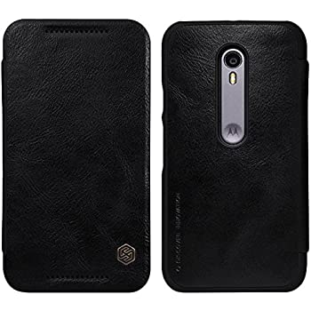 Nillkin Qin Leather Case For MOTO G3 Black