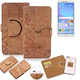 K-S-Trade 360° Cover cork Case for Huawei Y6 (2018)