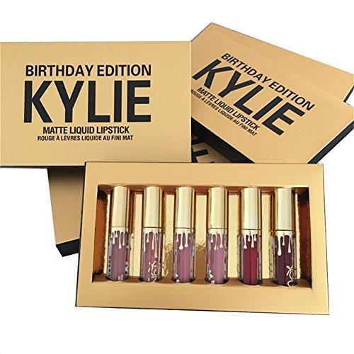 Preisvergleich Produktbild Kylie Jenner Limited Birthday Edition Kylie Matte Liquid Lipstick Cosmetics by Kylie Jenner Birthday Edition