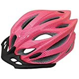 PedalPro Mens/Ladies Adult Bike Helmet - Pink