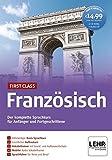 First Class Französisch. Paket: 4 CD-ROMs + Audio-CD: Der komplette Sprachkurs für Anfänger und Fortgeschritten