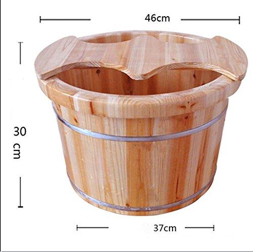 Preisvergleich Produktbild XWG Fuß-Fässer / Fußbad / Waschbecken / Doppel Waschbecken / 37cm * 45cm * 30cm