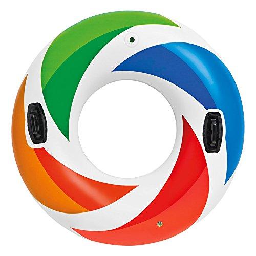Intex 58202 - Schwimmreifen Color mit Griff 3P free