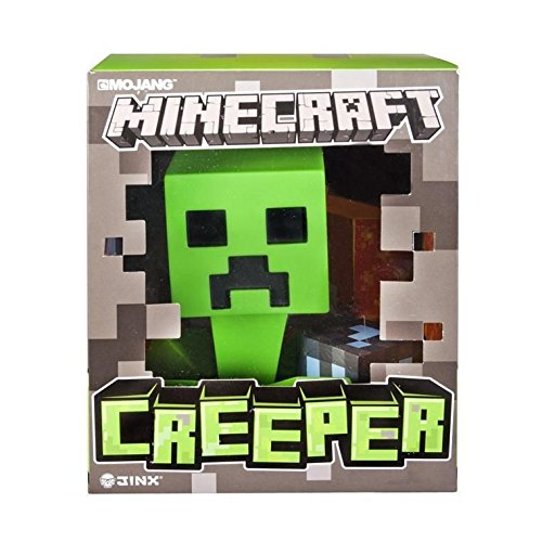 (Minecraft 80147 6-inch Creeper Vinyl Figure, Mehrfarbig)
