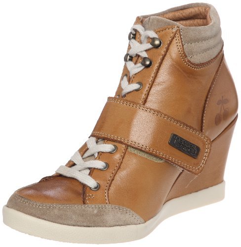 Le Temps des Cerises - Pasha, Sneaker Donna Marrone (Braun)