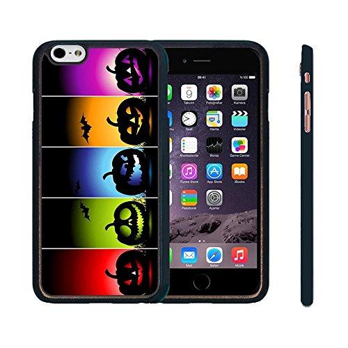 Halloween Hülle iPhone 6 Plus, iPhone 6s Plus [5.5 Zoll] Handy Schutz Hülle - Dessin Animé Style Hart Fall für iPhone 6 Plus, Cover für iPhone 6s Plus [5.5 Zoll] (Sprüche Halloween Zeichen)
