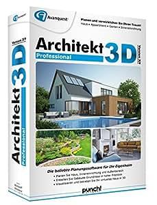 Architekt 3d x9 professional software for Architekt 3d professional