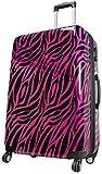 Koffer Zebra Pink Reisekoffer Trolley Beautycase Fa. Bowatex (XL Koffer 77cm)