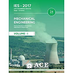 ESE 2017 Stage 1 (Prelims) Mechanical Engineering Objective Volume 1,Previous Objective Questions with Solutions, subjectwise & chapterwise. (ESE 2017 Stage1 (Prelims) UPSC Engineering Services)