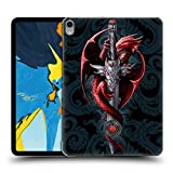 Head Case Designs Ufficiale Anne Stokes Coltello Dragoni Cover Dura per Parte Posteriore Compatibile con iPad PRO 11 (2018)