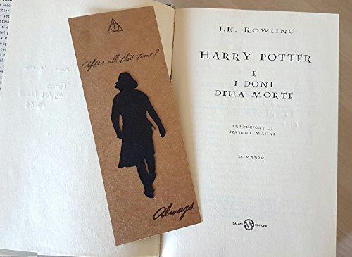Segnalibro Harry Potter, Severus Piton, Always...