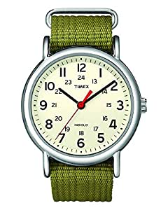 e6e8bb2cf7 Watches · Men  Timex Men s Unisex Tw2R42100 Weekender 38 Fabric Leather  Strap Watch