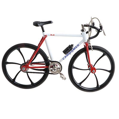 Homyl 1:10 Miniatur Diecast Fahrrad/Rennrad/Einrad/Bike Verkehrsmittel Modell für Tischdekoration, Sammlerstück, Geschenke - # 10