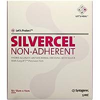 Silvercel Non Adherent Kompressen 11x11cm, 10 St preisvergleich bei billige-tabletten.eu
