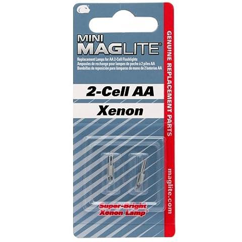 Mag-Lite® remplacement lampe pour Mini paquet de 2