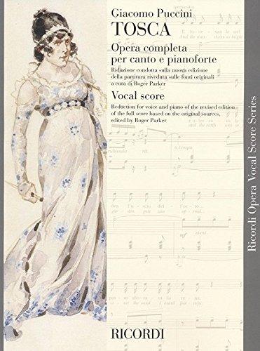 Puccini : Tosca (chant et piano) - Ricor...