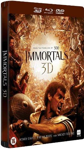 Bild von Krieg der Götter [Immortals] 3D Limited Steelbook Collection Version 1 [DVD - Blu-ray] [G2]