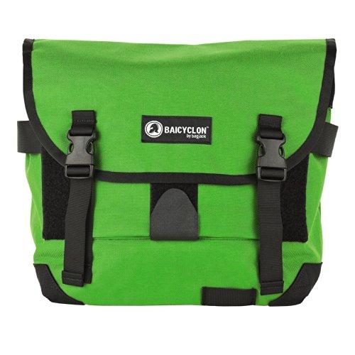 BAICYCLON , Borsa Messenger  Unisex, verde chiaro (Verde) - 00119564 verde chiaro