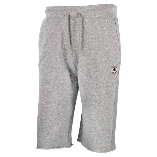 Converse Shorts Herren Basic Short 05036C Grey, Größe:L