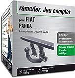 Rameder Attelage rotule démontable pour Fiat Panda + Faisceau 7 Broches...