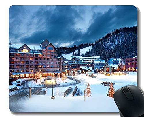 Yanteng Gaming-Mauspad, Snow Winter Austria Resort Hotel-Mauspad