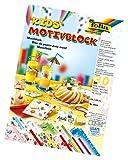 folia 4949 - Motivblock Kids, 24 x 34 cm, 30 Blatt sortiert