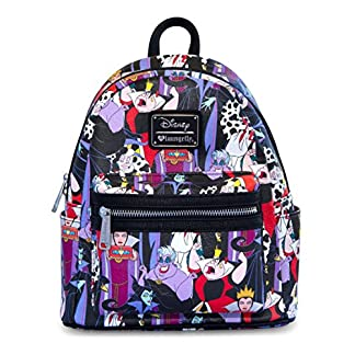 Loungefly villanos Disney mini mochila