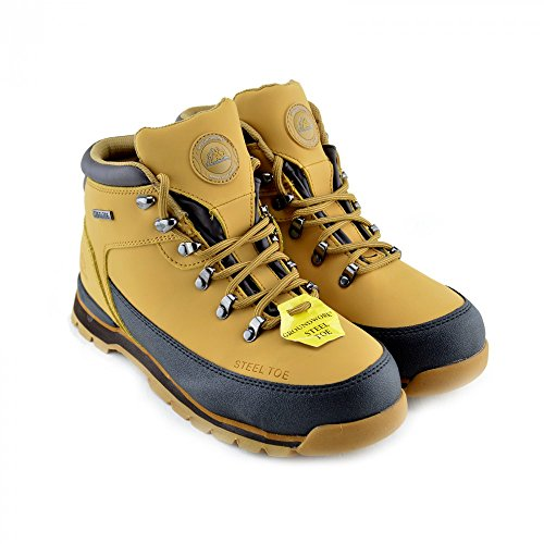 Groundwork - Gr77, Scarpe antinfortunistiche unisex (HONEY-GR77)