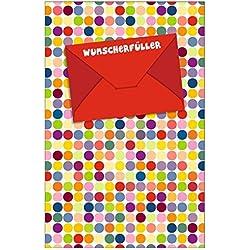 """Susy Card 40010885 Gutscheinkarte """"Wunscherfüller"""", Maße: 17 x 11 x 0, 3 cm"""