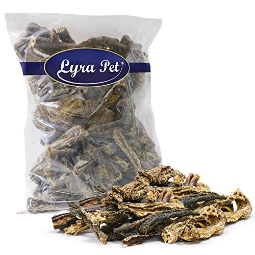 Lyra Pet 5 kg Rinderdörrfleisch Dörrfleisch Schlund Hundefutter Rinderschlund
