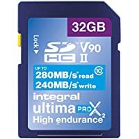 Integral INSDH32G-280/240U2 Carte SD 32 GB