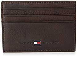TOMMY HILFIGER Womens Johnson Cc Holder Wallet Brown