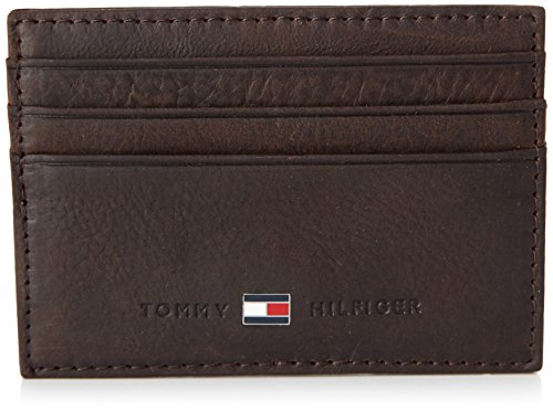 Tommy Hilfiger JOHNSON CC HOLDER BM56924758, Porta documenti e carte di credito Uomo, Marrone (Braun (BROWN 204), 10 x 7 x 1 cm (L x A x P)