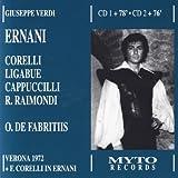 Ernani (Corelli, Ligabue, Cappuccilli) [Import anglais]