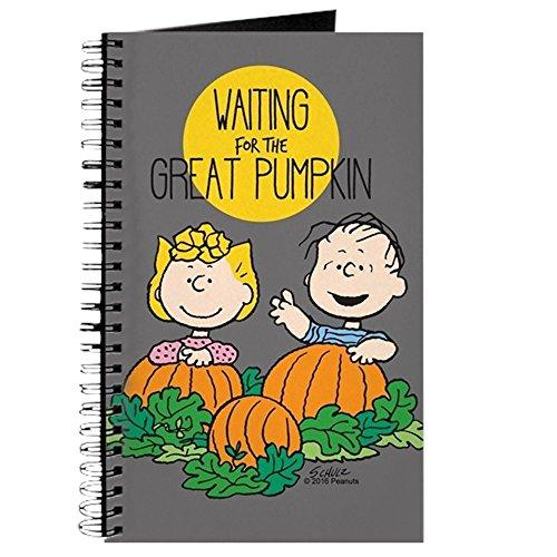 CafePress-Peanuts: The Great Kürbis-Spiralbindung Journal Notebook, persönliches Tagebuch, Aufgabe Tagebuch