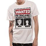 CID Rick And Morty Wanted T-Shirt Uomo