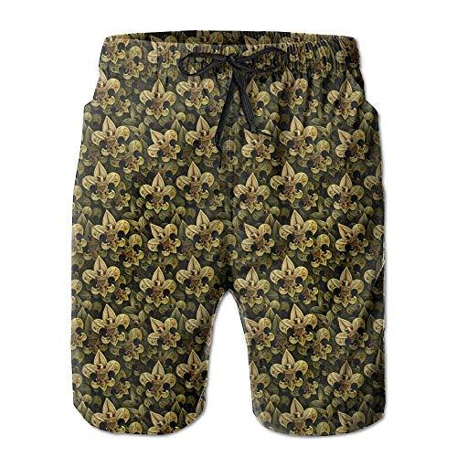 XIAOYI Boy Scouts of America 1 Men's Beach Shorts Swim Trunks - Swimsuit Athletic Shorts - M - Mlb Kids Shorts